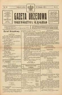 Gazeta Urzędowa Województwa Śląskiego, 1923, R. 2, nr 44