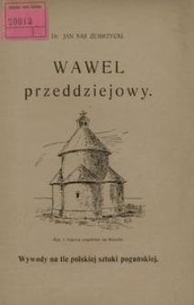 Wawel przeddziejowy. Wywody na tle polskiej sztuki pogańskiej