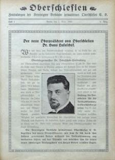 Oberschlesien. Zentralorgan der Vereinigten Verbände Heimattreuer Oberschlesier, 1929, Jg. 6, H. 3