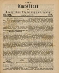 Amtsblatt der Königlichen Regierung zu Liegnitz, 1888, Jg. 78, Nr. 20