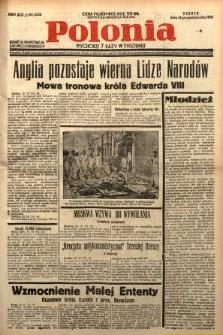Polonia, 1936, R. 13, nr 4328
