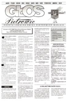 Głos Pietrowic : gazeta lokalna gminy Pietrowice Wielkie. Nr 35.