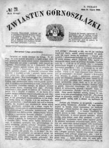 Zwiastun Górnoszlązki, 1869, R. 2, nr 29