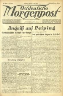 Ostdeutsche Morgenpost, 1937, Jg. 19, Nr. 203