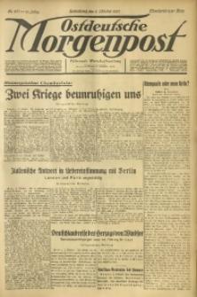 Ostdeutsche Morgenpost, 1937, Jg. 19, Nr. 277