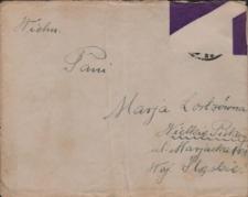 List Pawła Grzegorza Słani do Marii Lortz z 24 kwietnia 1933 roku