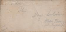 List Pawła Grzegorza Słani do Marii Lortz z 31 października 1933 roku
