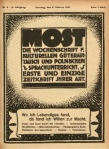 Most, 1921, Jg. 2, Nr. 6