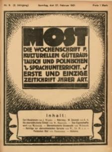 Most, 1921, Jg. 2, Nr. 9