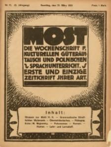 Most, 1921, Jg. 2, Nr. 11