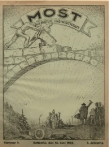 Most, 1922, Jg. 3, Nr. 4