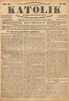 Katolik, 1913, R. 46, nr 28