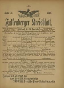 Falkenberger Kreisblatt, 1919, St. 47