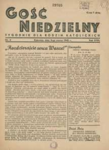 Gość Niedzielny, 1945, R. 18, nr 4