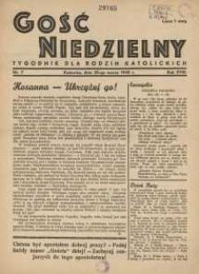 Gość Niedzielny, 1945, R. 18, nr 7