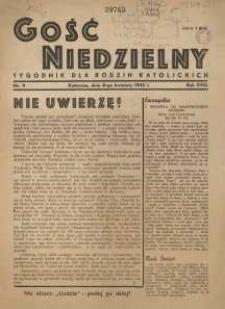 Gość Niedzielny, 1945, R. 18, nr 9
