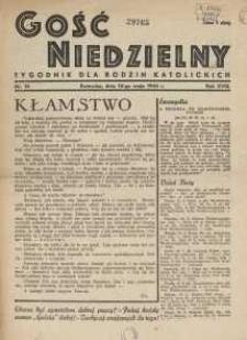 Gość Niedzielny, 1945, R. 18, nr 14