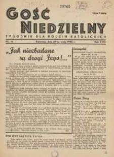 Gość Niedzielny, 1945, R. 18, nr 16