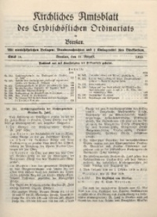 Kirchliches Amtsblatt des Erzbischöflichen Ordinariats in Breslau, 1940, St. 16
