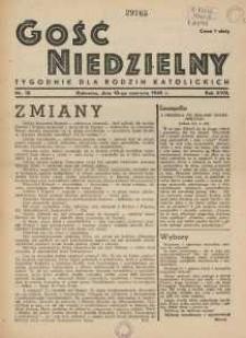 Gość Niedzielny, 1945, R. 18, nr 18
