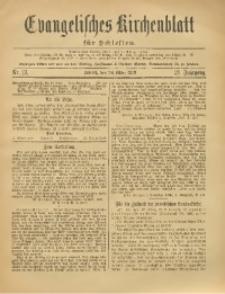 Evangelisches Kirchenblatt für Schlesien, 1918, Jg. 21, Nr. 13