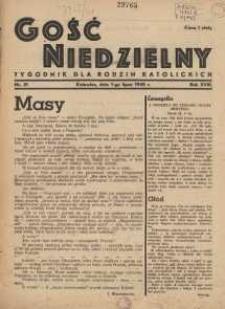 Gość Niedzielny, 1945, R. 18, nr 21