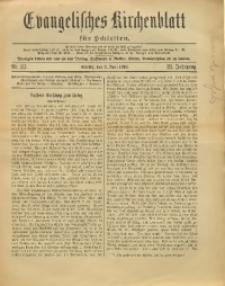 Evangelisches Kirchenblatt für Schlesien, 1918, Jg. 21, Nr. 23