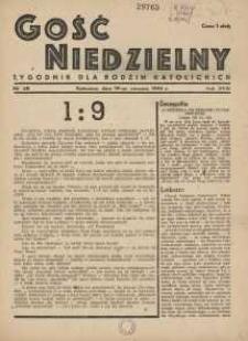 Gość Niedzielny, 1945, R. 18, nr 28