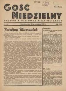 Gość Niedzielny, 1945, R. 18, nr 34
