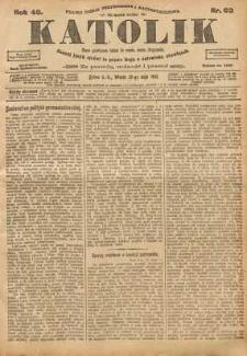 Katolik, 1913, R. 46, nr 63