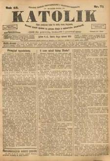 Katolik, 1913, R. 46, nr 71
