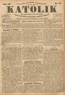 Katolik, 1913, R. 46, nr 76