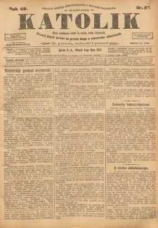 Katolik, 1913, R. 46, nr 81