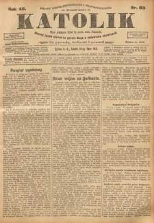 Katolik, 1913, R. 46, nr 83
