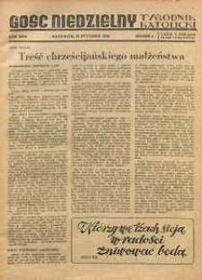 Gość Niedzielny, 1950, R. 23, nr 4