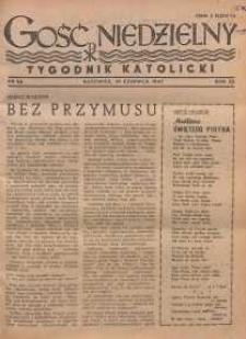Gość Niedzielny, 1947, R. 20, nr 26