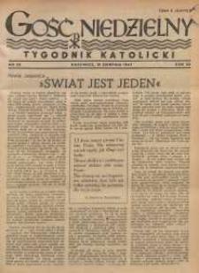 Gość Niedzielny, 1947, R. 20, nr 35
