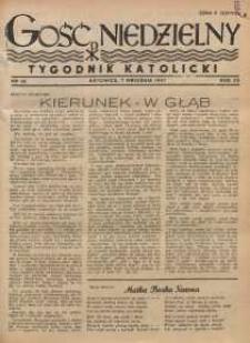 Gość Niedzielny, 1947, R. 20, nr 36