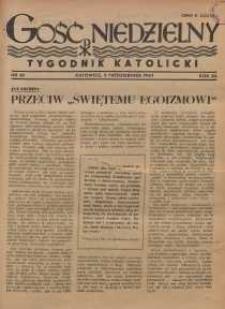 Gość Niedzielny, 1947, R. 20, nr 40