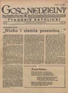 Gość Niedzielny, 1947, R. 20, nr 47