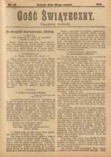 Gość Świąteczny, 1913, nr 12