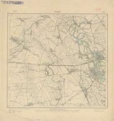 Cosel (Koźle). Arkusz nr 3304 [5674] - 1914 r.