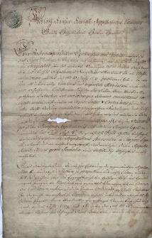 Odwołanie z 31.08.1775 r. wierzycieli Franza Antona Martinelli (siedmiu kupców lub kompanii handlowych) od wyroku magistratu Starego Miasta w Pradze opublikowanego 10.07.1775 r. w sprawie ich pretensji w wysokości 6666 austriackich złotych