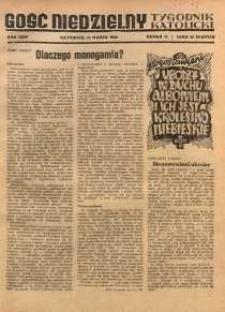 Gość Niedzielny, 1950, R. 23, nr 11