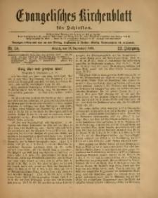 Evangelisches Kirchenblatt für Schlesien, 1919, Jg. 22, Nr. 38