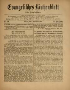 Evangelisches Kirchenblatt für Schlesien, 1919, Jg. 22, Nr. 44