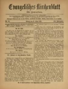 Evangelisches Kirchenblatt für Schlesien, 1920, Jg. 23, Nr. 12
