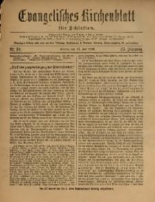 Evangelisches Kirchenblatt für Schlesien, 1920, Jg. 23, Nr. 30