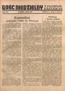 Gość Niedzielny, 1950, R. 23, nr 19