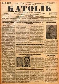 Katolik, 1929, R. 62, nr 3
